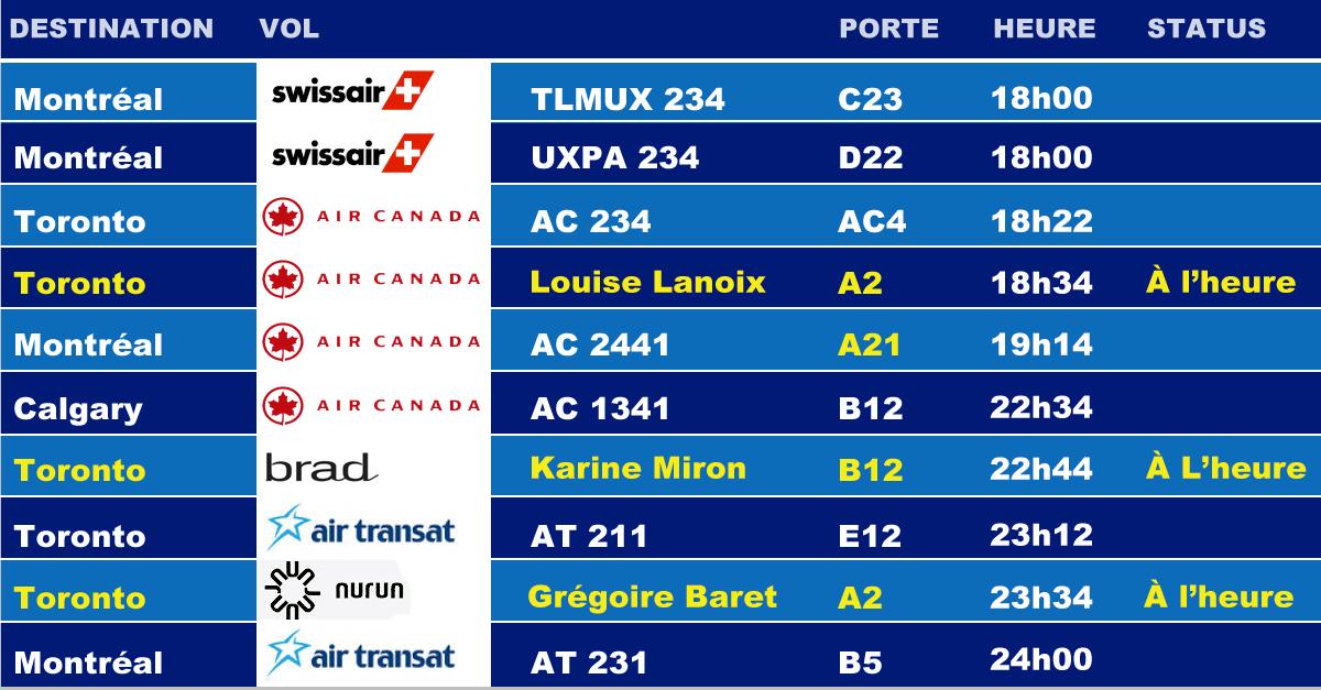 jeudi 4 septembre 2014 - Montréal