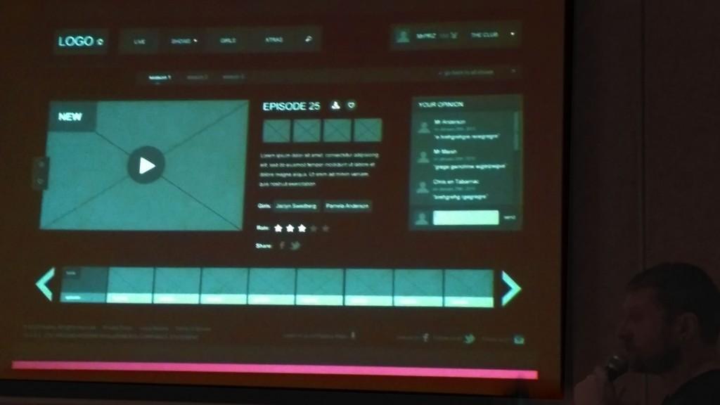 Photo 2: Exemple d'interface finale combinant les objectifs 4 et 5