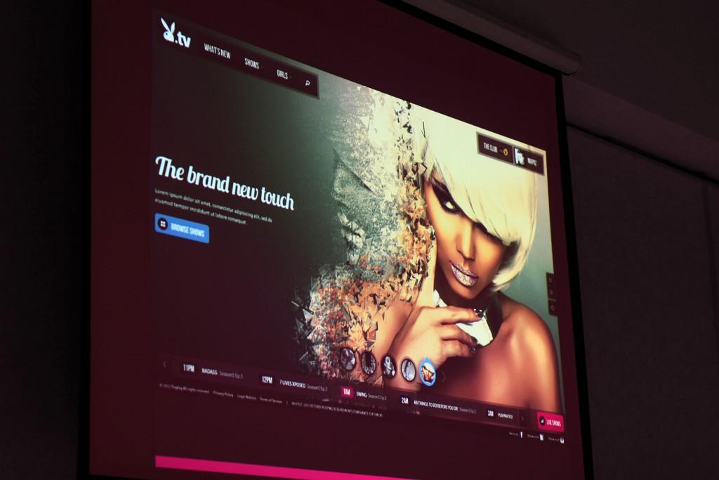Photo 1: Exemple d'interface finale combinant les objectifs 1, 2 et 3